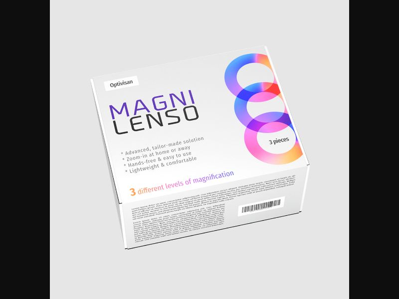 MAGNILENSO - eyes - specialized glasses - COD / SS - new creative available – ES – CPA