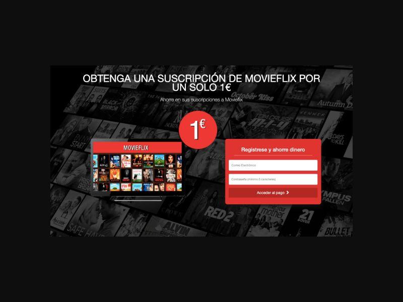 MovieFlix $1 Trial CC Submit (ES)