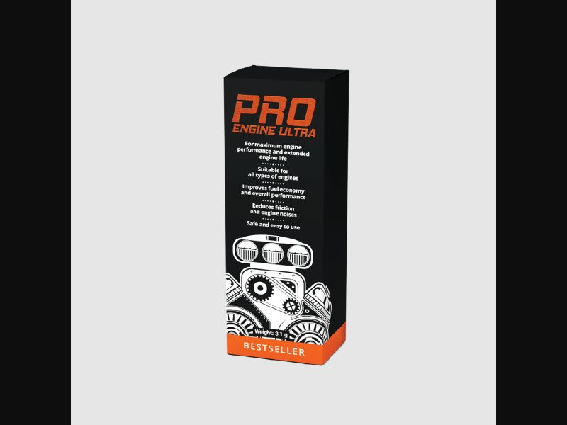 PROENGINE ULTRA – CZ – CPA – fuel – engine additive - COD / SS - new creative available