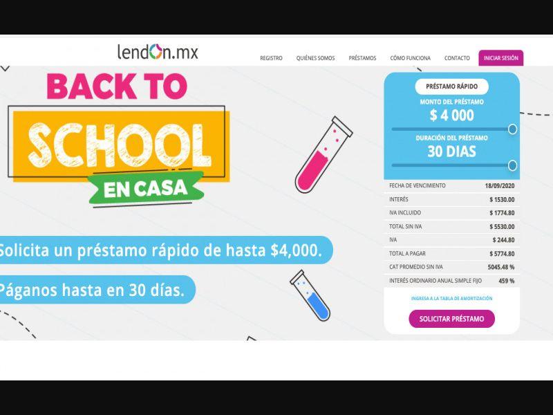 Finance - Lendon - Cpa