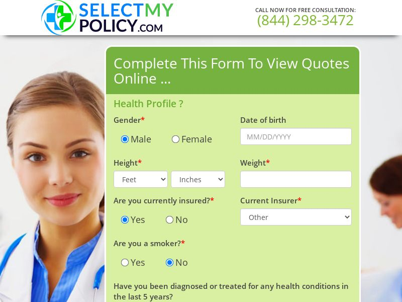 Instant Health Quotes [US] (Email,Native,Social,Banner,Push,Search) - CPL