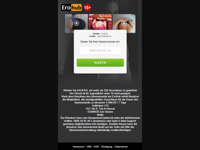 Erohub (Mobilcom) DE   PIN Submit - Incent Allowed