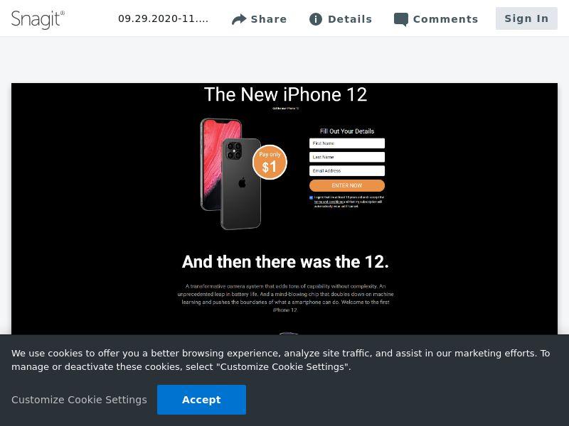 uWin iPhone 12 | SG