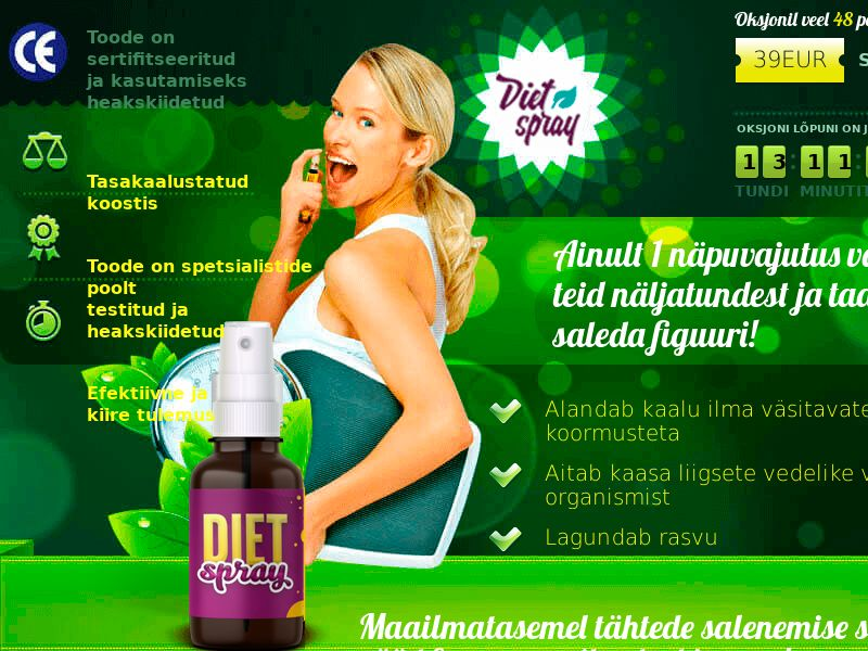 Diet Spray EE - weight loss treatment