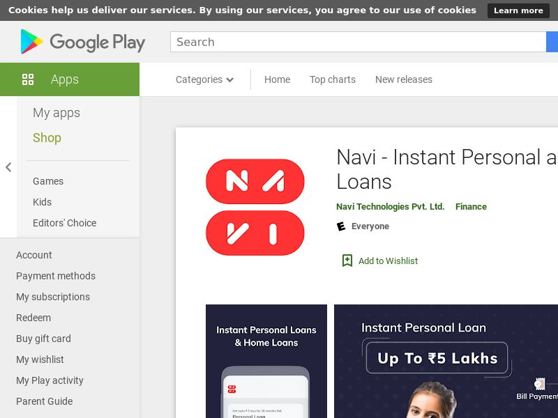 Navi - Instant Personal and Home Loans