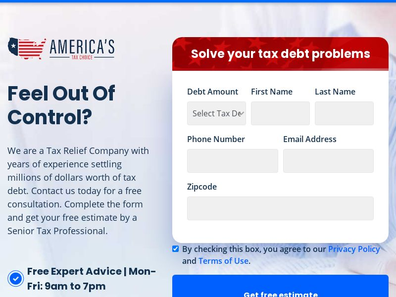 Americas Tax Choice (Tax Relief)