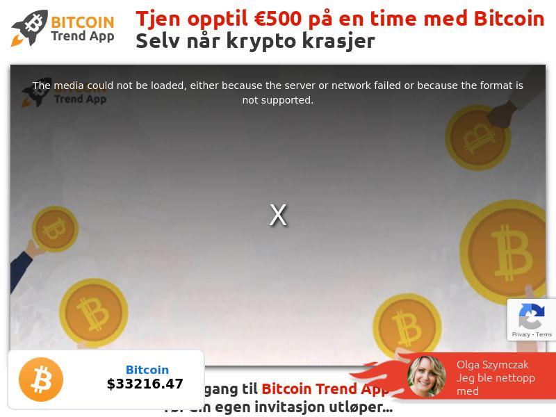 Bitcoin Trend App - NO