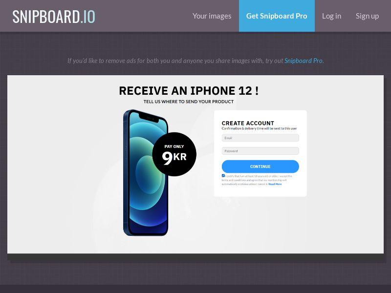 39326 - SE - FI - NO - DK - CH - BE - NL - CorePlays - iPhone 12 (LP1) SE, FI, NO, DK, CH, BE, NL - CC submit