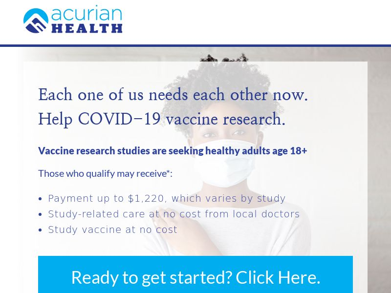Clinical Trial: COVID - 19 Vaccine - US (State target)