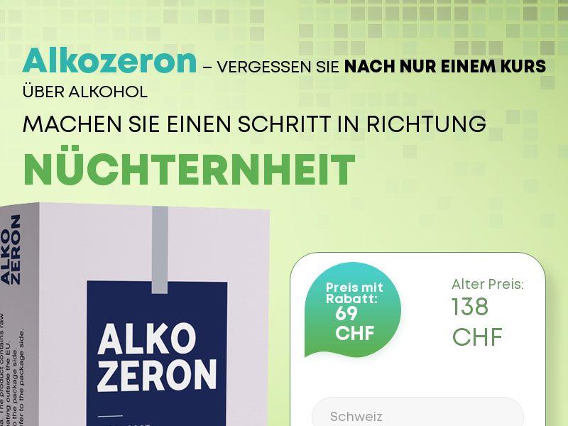 Alkozeron CH - alcoholism treatment product