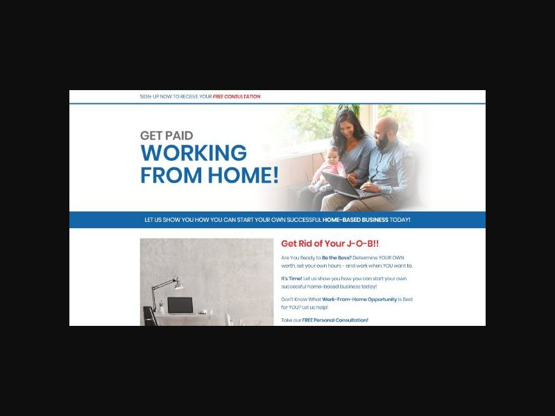 Get Paid Working From Home - US/CA