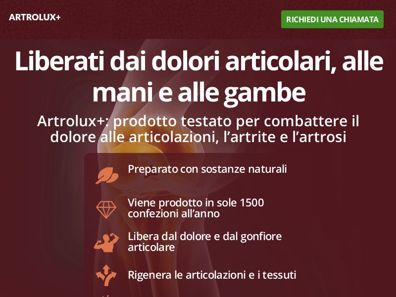 Artrolux+ - Joints Capsules - IT