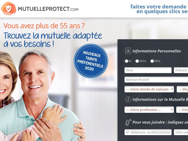 FR - Mutuelle Protect - Email - CPL