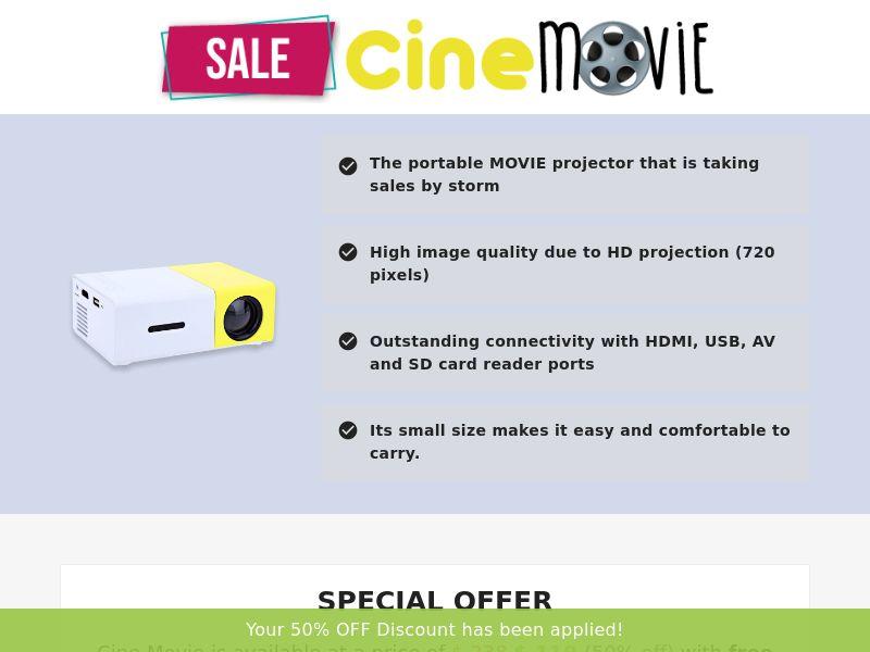 Cine Movie (PPS) - eCommerce - WW