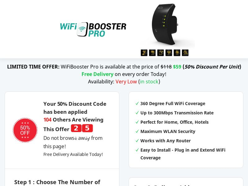 WiFiBooster Pro - Best Deal Today