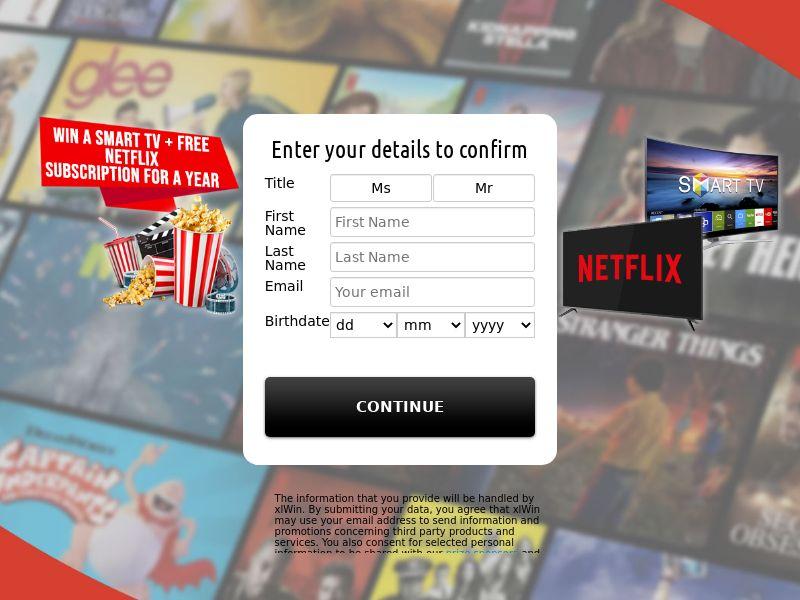 (13262) [WEB+WAP] Netflix + smart TV - AU - CPL