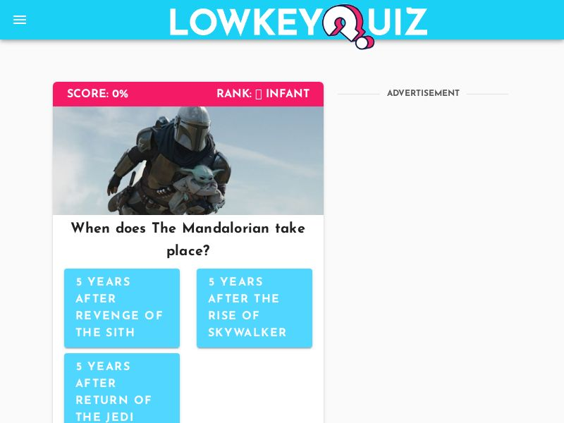 The Mandalorian Quiz (for Android) - US
