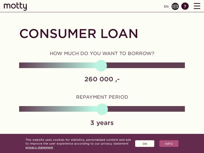 (13987) [EMAIL] Motty - A loan for every need - NO - CPA