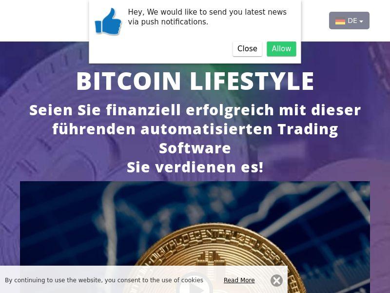 Bitcoin lifestyle German 3863