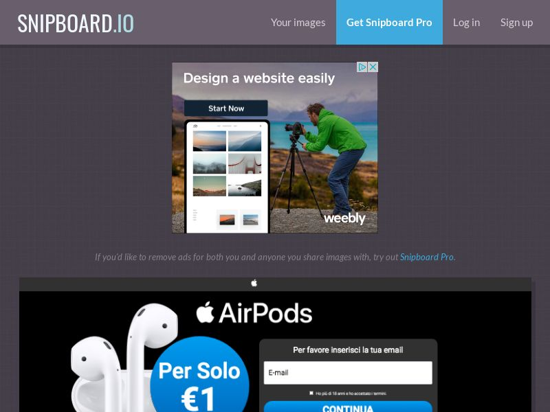MagnificentPrize - AirPods IT - CC Submit