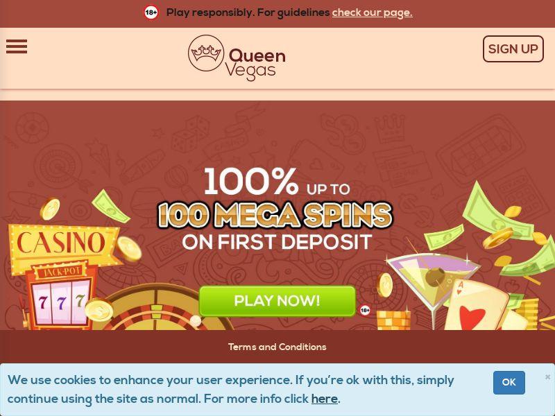 Queen Vegas - NZ - DK - NL - NO - (CPA)