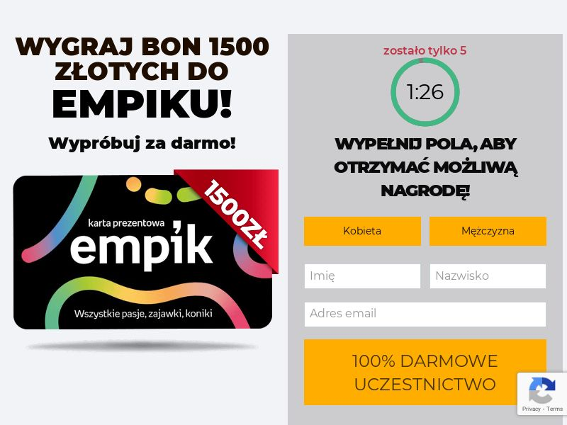 Empik Karta Podarunkowa - PL (PL), [CPL]
