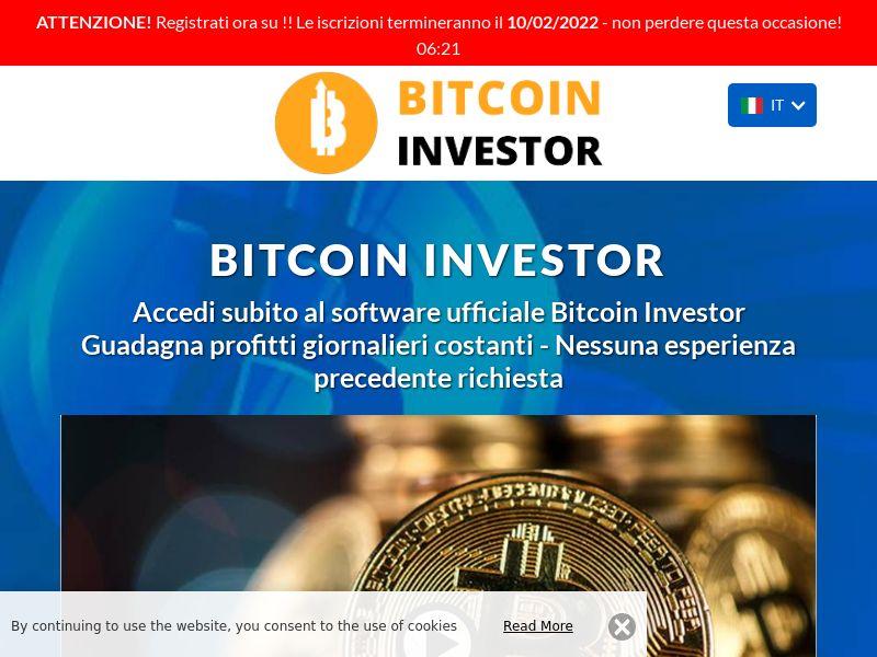 The Bitcoin investor Italian 1410