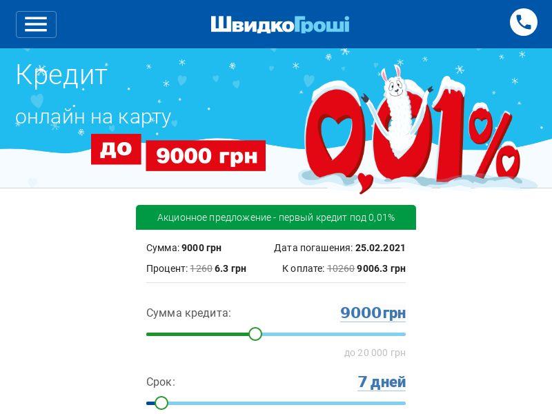 ShvidkoGroshі - Microcredit