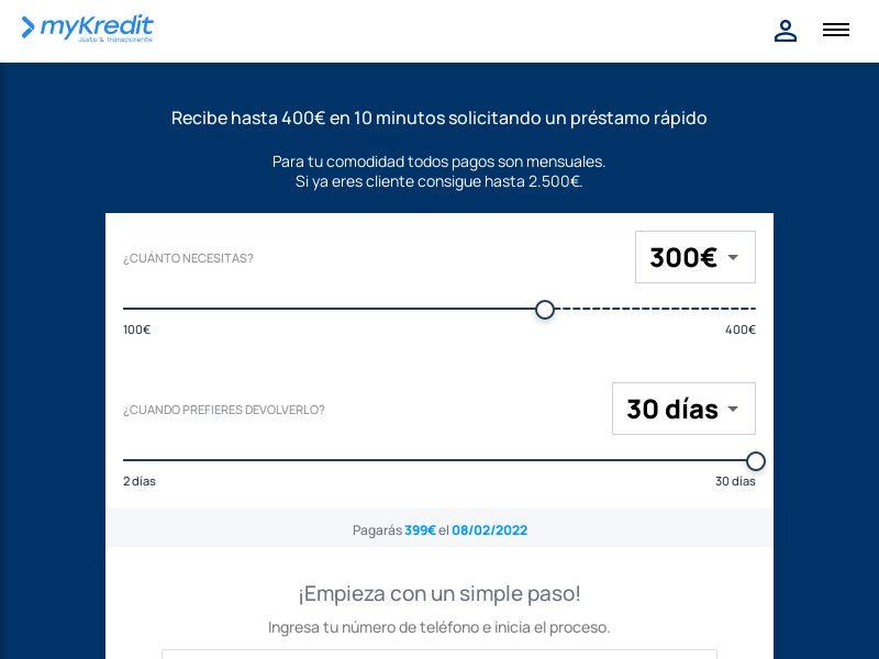 mykredit (mykredit.es)