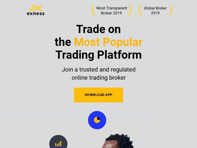 Exness Trader - MENA - iOS (CPA)