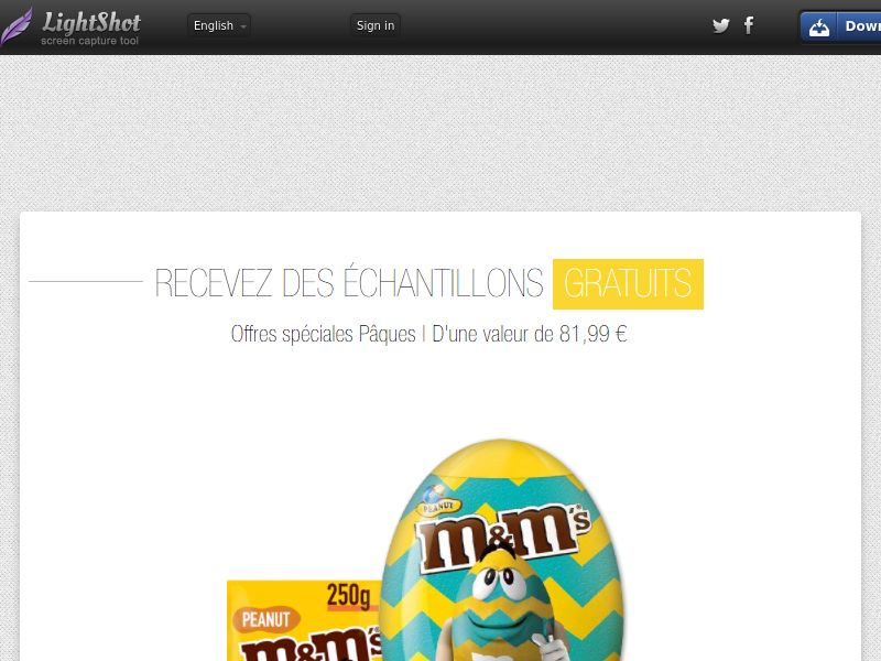 Portal Leads - M&M Easter (FR) (CPL) (Incent) (Personal Approval)