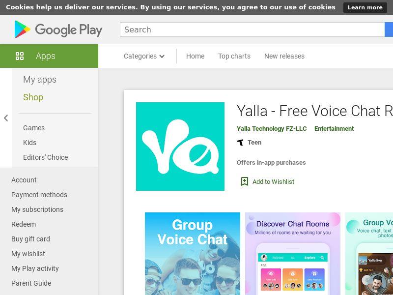 SA - Yalla - Free Voice Chat Rooms_Android CPI