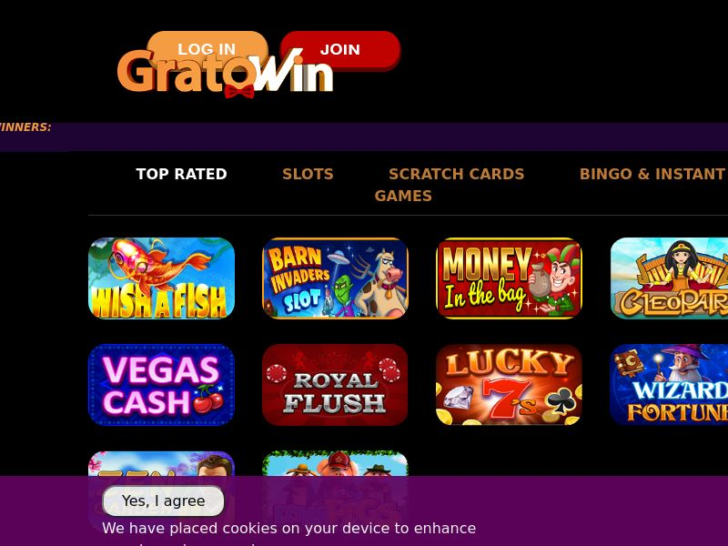 GratoWin - FR (FR), [CPA], Gambling, Casino, Deposit Payment, million, lotto