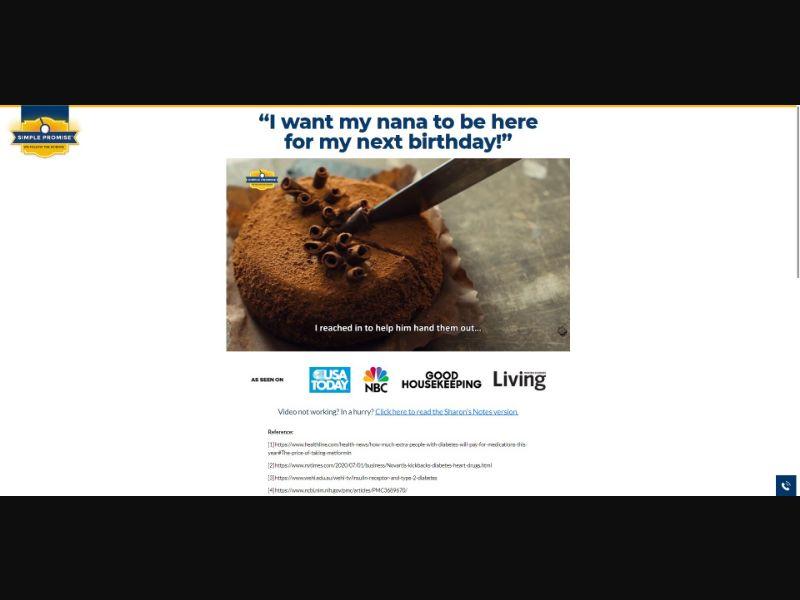 Simple Promise Nutonen - VSL - Health - SS - NO SEO - [US]