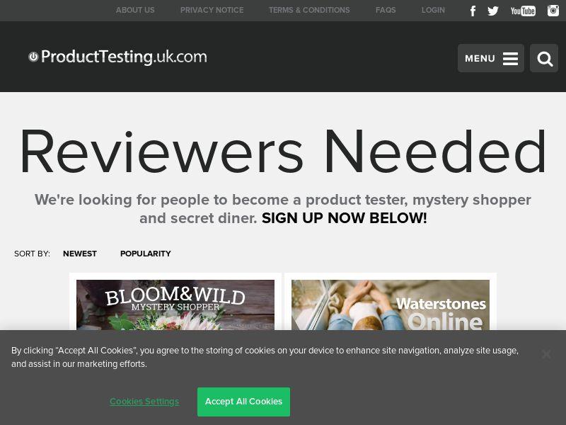 Email Submit - £100 Cath Kidston Mystery Shopper - SOI (UK)