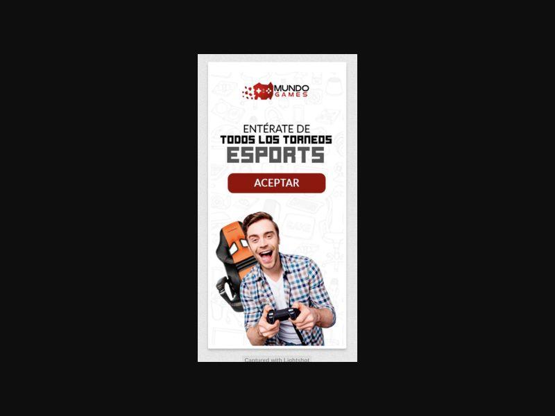 MX - Mundo Games (Telcel only) [MX] - 2 click
