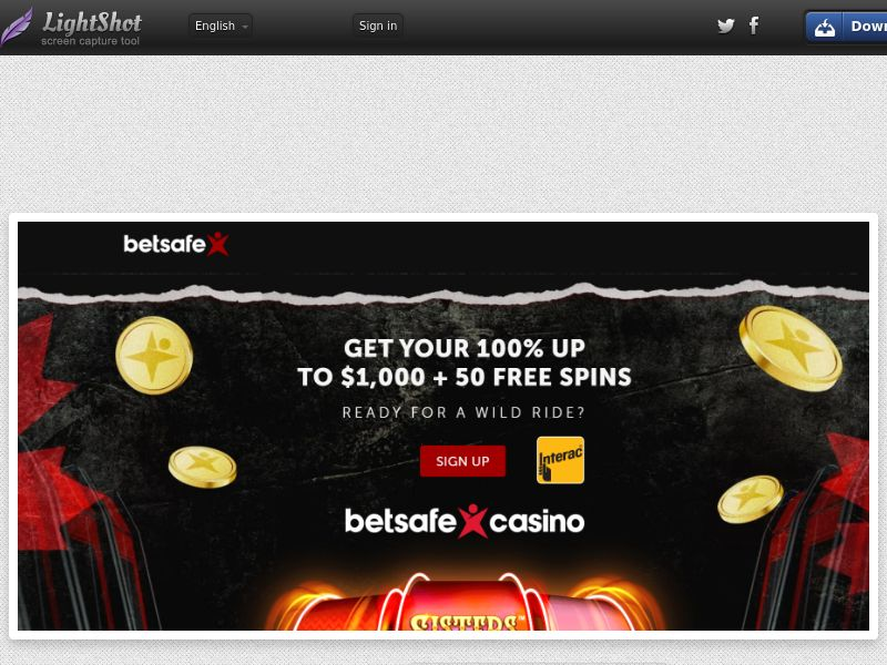 Bet Safe Casino (CA) (CPS) (Personal Approval)