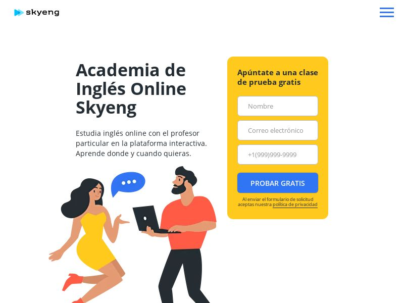 Skyeng - ES (ES), [CPA | CPS], Knowledge, Trainings, Tutorials, Sport & Hobby, Sell, guide