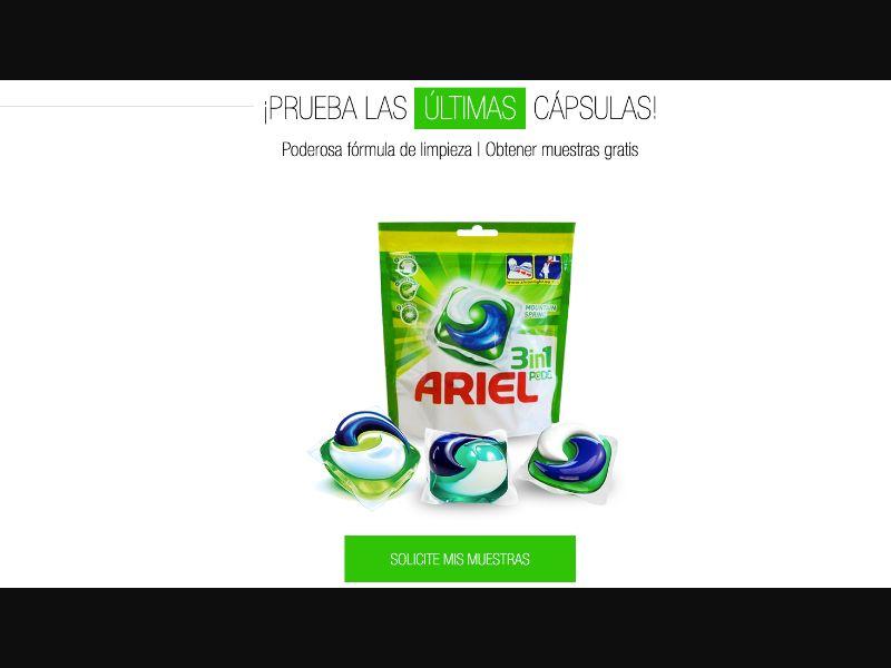 Ariel - CPL SOI - ES - Sweepstakes - Responsive