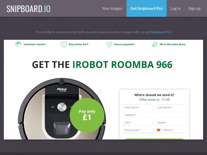39850 - UK - OrangeViral - B - Irobot Roomba - CC submit