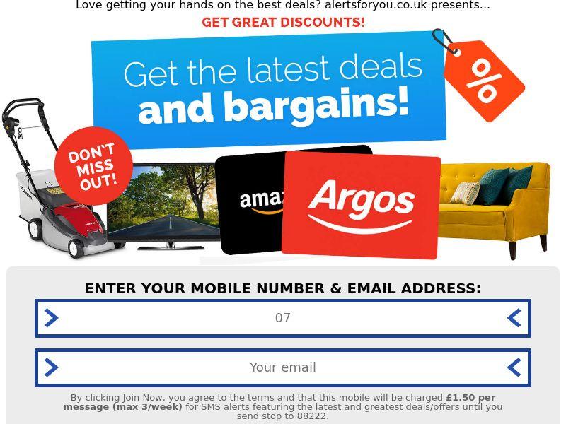Argos Offer CPL UK [GB]