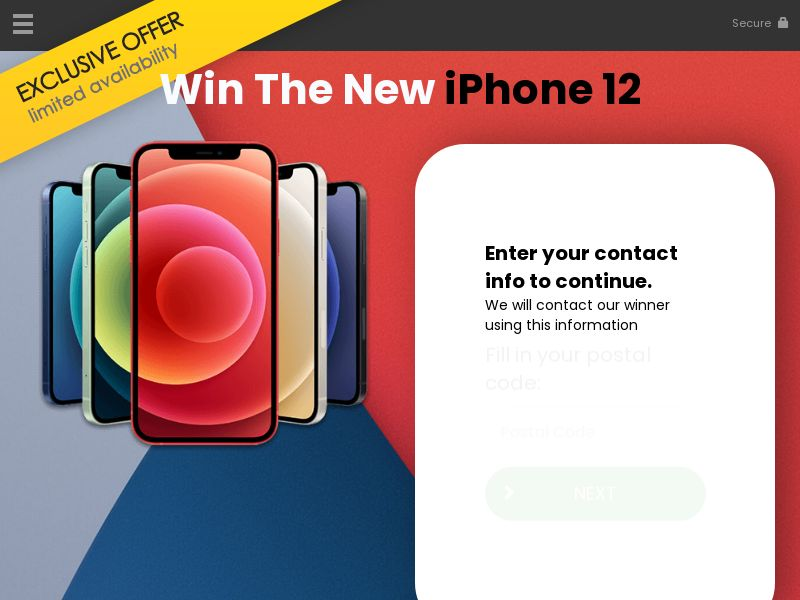 Win the iphone12 - AU