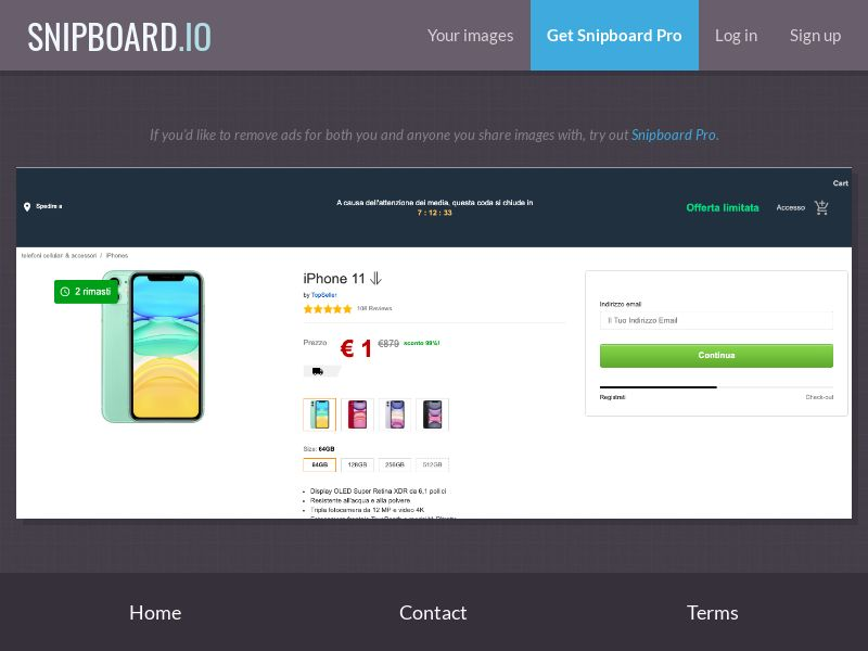 38047 - IT - BushidoBoy - iPhone 11 (Amazon) - CC submit