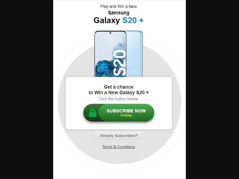 Samsung S 20 (ZA)