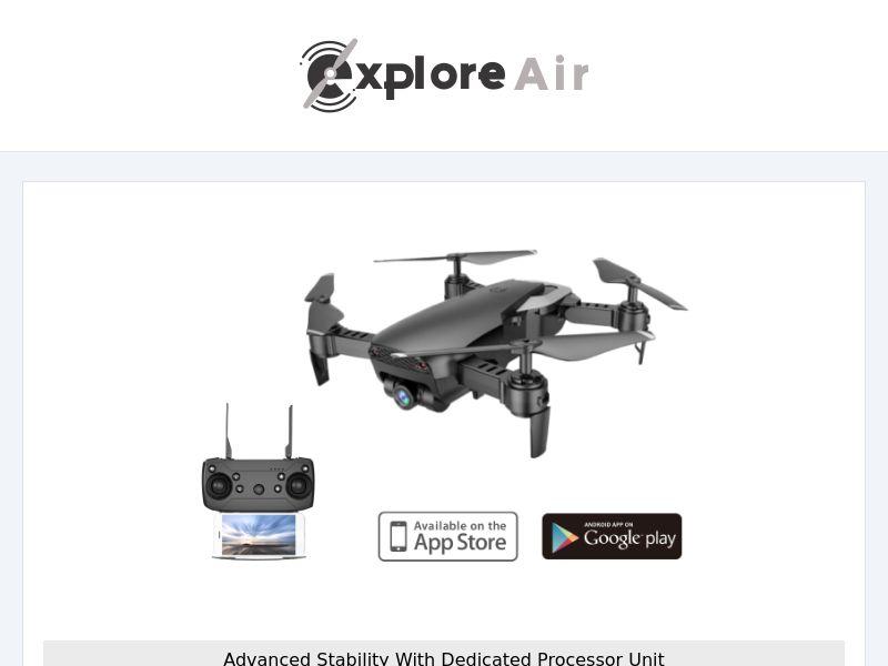 Explore AIR - Drone - CPA - [INTERNATIONAL]