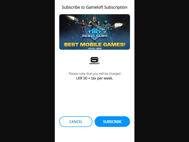 LK - Games (Dialog only) [LK] - 2 click
