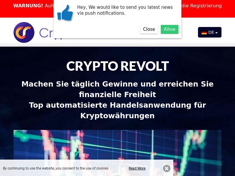 Crypto Revolt German 2133