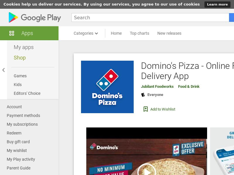 Domino's Pizza AND IN