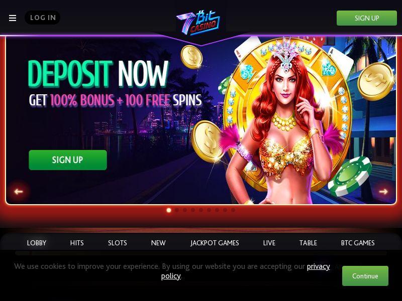 7bit Casino CPA CA, AU