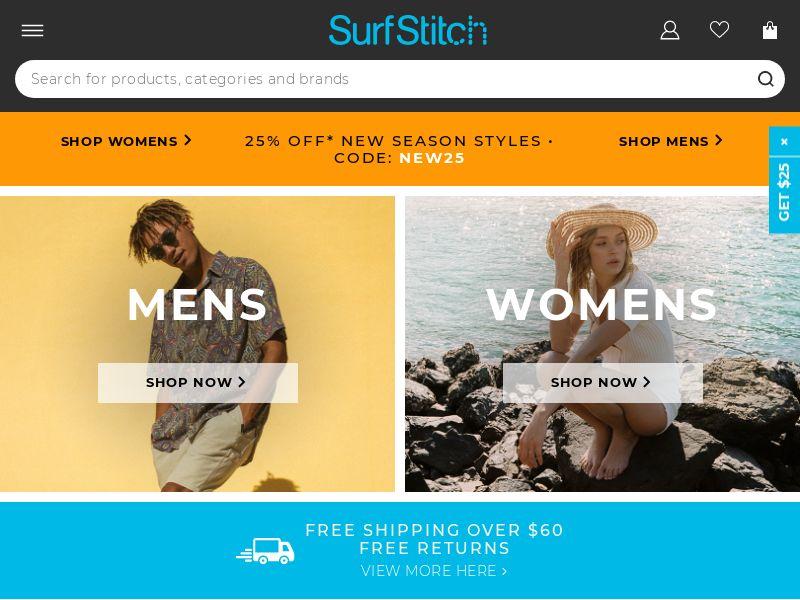 Surfstitch AU, NZ